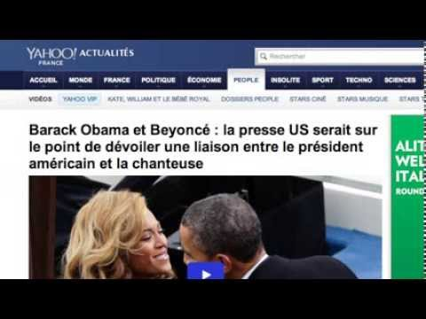 French Media Go Crazy Over 'Absurd' Obama and Beyonce Affair Rumor