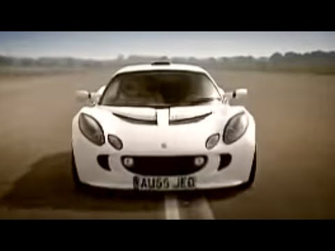 Top Gear - Lotus Exige vs. Ford Mustang speed racing from Top Gear - BBC