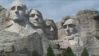 Drive from Rapid City to Mount Rushmore National Memorial