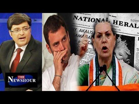 Herald Haunts Gandhis | Congress Stalls Parliament Proceedings : The Newshour Debate (8th Dec 2015)