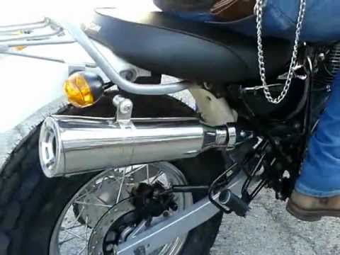 V-Raptor 250 Skyteam exhaust BIKERS NUMBER ONE.mp4