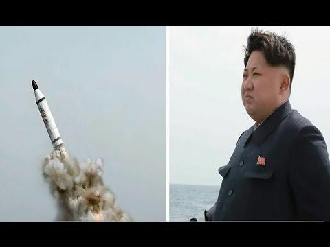 North Korea 'fires short range missiles' into sea