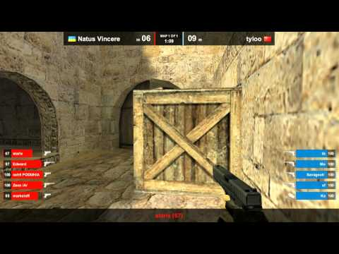 Na`Vi vs. tyloo @ dust2
