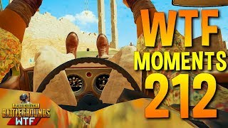 PUBG Daily Funny WTF Moments Highlights Ep 212 (playerunknown's battlegrounds Plays)