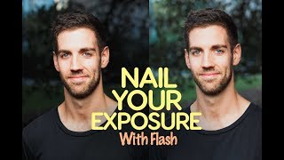 How to Balance Ambient light with Flash (and NAIL your exposure!)