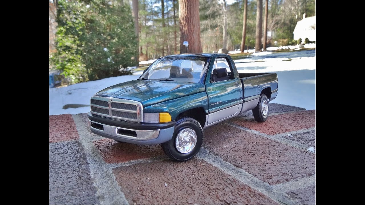 Old Dodge Ram >> Review of 1/18 Dodge Ram 2500 by Ertl - YouTube