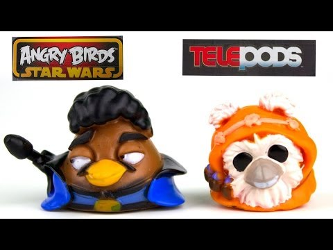 Angry Birds Star Wars Telepods - Series 2 - Rebels vs. Villains Multipack - Cool!