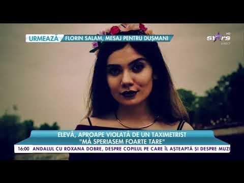 Magda aproape violata de un taximetrist la TV (Antena Stars)