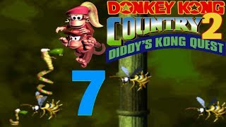 """Let's Play Donkey Kong Country 2: Diddy's Kong Quest """"Shiny Dixie Kong & Rattlys Abenteuer!"""" Teil 7"""