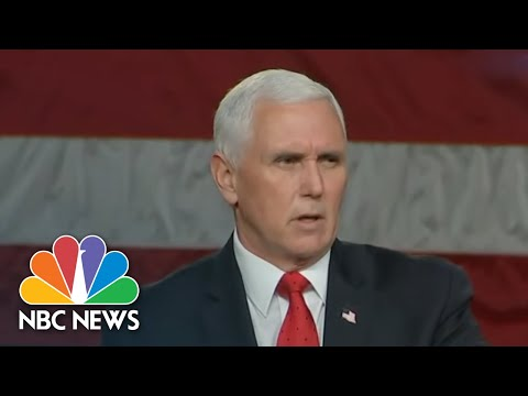 Play this video Trump Pressures Pence Ahead Of Electoral College Certification  NBC Nightly News