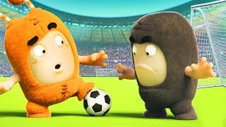 FIFA World Cup | The Oddbods Show | Funny Cartoons For Kids | Oddbods & Friends