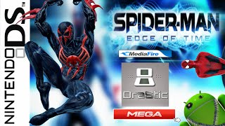 Descargar Spider-Man Edge of Time en español para Android Drastic | ROM NDS