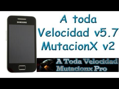 ROM MutacionX PRO v2 en un Samsung Galaxy Ace   Review y análisis - TheVigoFlax