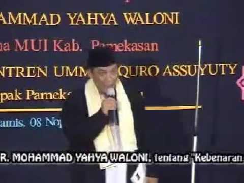 Pendeta DR. Yahya Waloni Beberkan Tentang Kristen. Part 5.