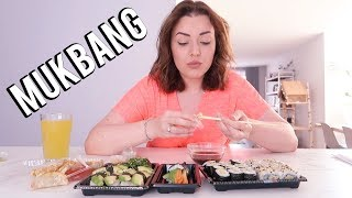 Sushi mukbang ❤ Laten we even kletsen over het leven | Beautygloss