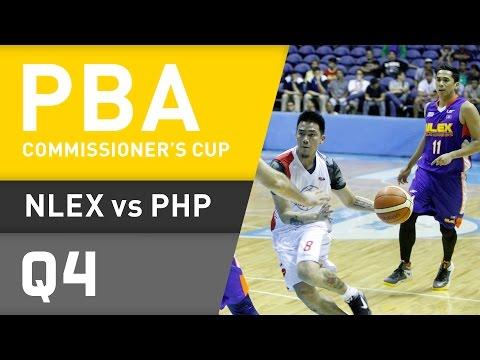 NLEX VS. PHOENIX - Q4   Commissioner's Cup 2016