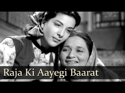 Raja Ki Aayegi Baraat - Raj Kapoor - Nargis - Aah - Lata Mangeshkar - Evergreen Hindi Songs video