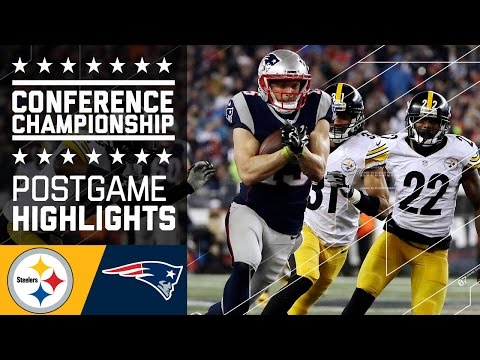 Steelers Vs Patriots Afc Championship Game Highlights