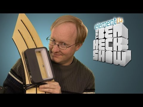 A Man with a Scan - Ben Heck s 3D Scanner