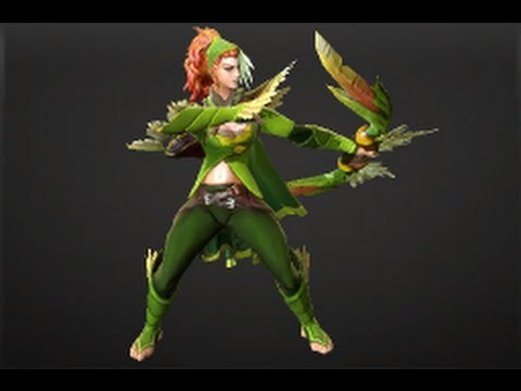 Dota 2 Store - Featherfall Set -  Windrunner - FREE