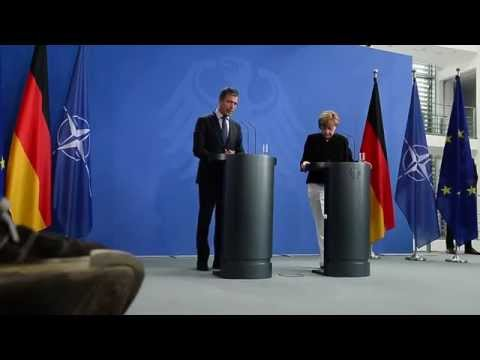 NATO Secretary General with Chancellor of Germany - Joint Press Point, 2 July 2014