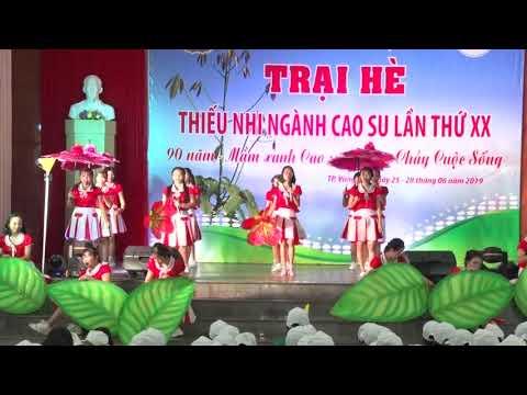 Ca khúc trại hè Ngành Cao su Việt Nam năm 2019