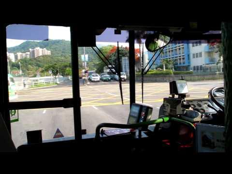 KMB AV1 FW5572 晚年行車片段(富亨-大埔站)