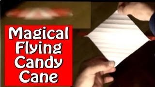 Fold An Origami Flying Candy Cane! Designed By Jeremy Shafer