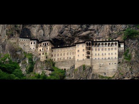 الطريق الى دير سوميلا في شمال تركيا وجوله بداخله sumela monastery