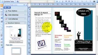 Cara Membuat Brosur Sekolahan Dengan Corel Draw