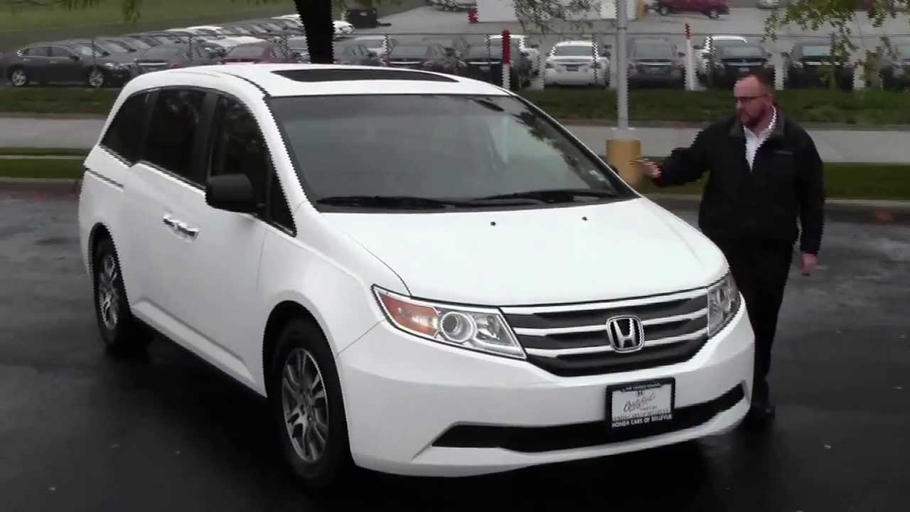 Certified used 2011 honda odyssey ex l for sale at honda for Certified used honda odyssey