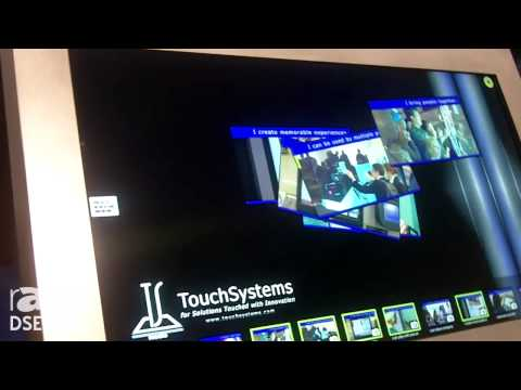 DSE 2014: Touch Systems Introduces Its 46″ Multitouch Kiosk with 6 Touch Points