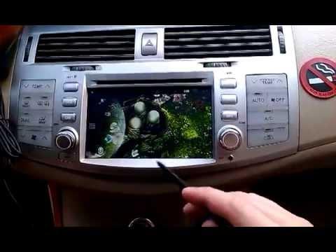 Штатное головное устройство Toyota Avalon 2006 2010