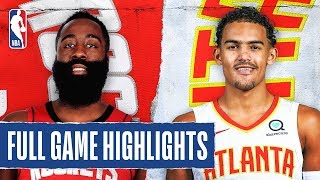 ROCKETS at HAWKS | FULL GAME HIGHLIGHTS | January 8, 2020
