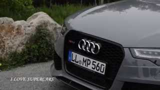 Nardo Grey Audi RS6 C7 - Sound and Accelerations