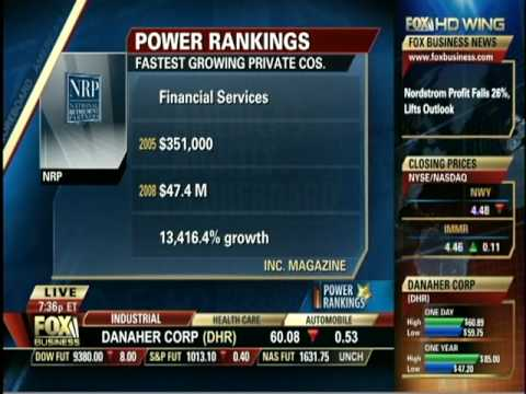 Northern Capital Insurance - Fox Business News Interview August 13, 2009 NCIG