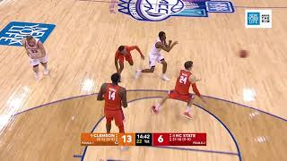 2019.03.13 Clemson Tigers vs NC State Wolfpack Basketball (ACCT - Above the Rim)