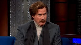 Ron Burgundy Hilariously Takes Over Late-Night Talk Shows