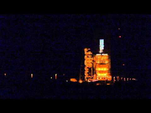 NASA's Orion EFT-1 Spacecraft Arrives At The Launch Pad For Historic First Flight