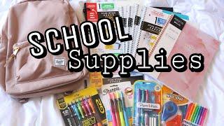 Back To School Supplies Haul 2018