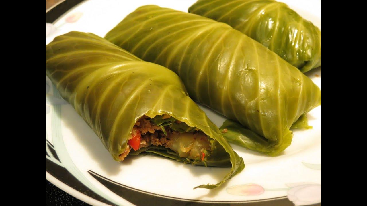 Vegan Cabbage Rolls - YouTube