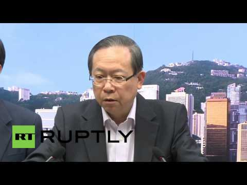 """Hong Kong: """"We do not approve any of this violence"""" - Secretary for Security"""