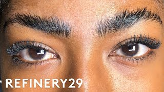 I Got Brow Lamination For The First Time | Macro Beauty | Refinery29