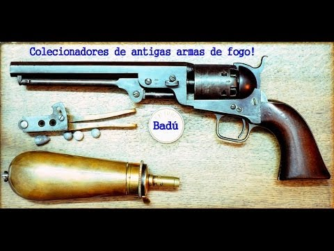 COLECIONADORES DE ANTIGAS ARMAS DE FOGO!