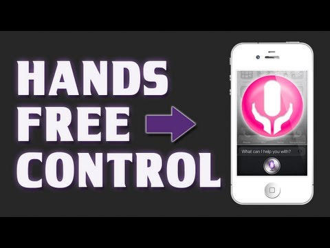 Hands-Free Control [Cydia Tweak] - Activate Siri With Your Voice!
