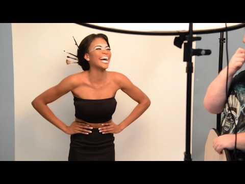 Retrato fashion. Video BTS de una sesión de modelaje con Zumay Antoníos en Panamá