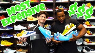 I BOUGHT MY MOST EXPENSIVE SNEAKER EVER! Sneaker Shopping w/ Mopi!