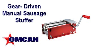 Horizontal Two-Gear Manual Sausage Stuffer