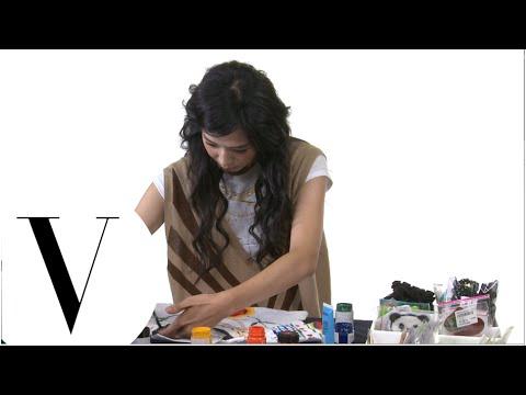 王心恬為 2014 VOGUE 全球購物夜製作T恤
