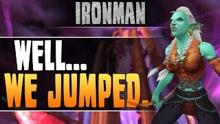 WoW Ironman | JUMPING from THE EYE ft. Pingu [Cobrak]